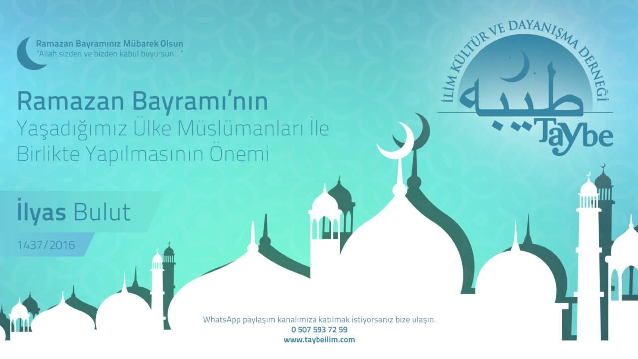 Ramazan Bayramı'nın Yaşadığımız Ülke Müslümanları İle Birlikte Yapılmasının Önemi